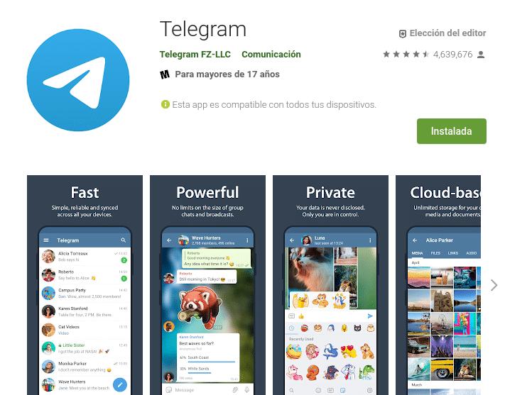 Por qué debes usar Telegram en Android