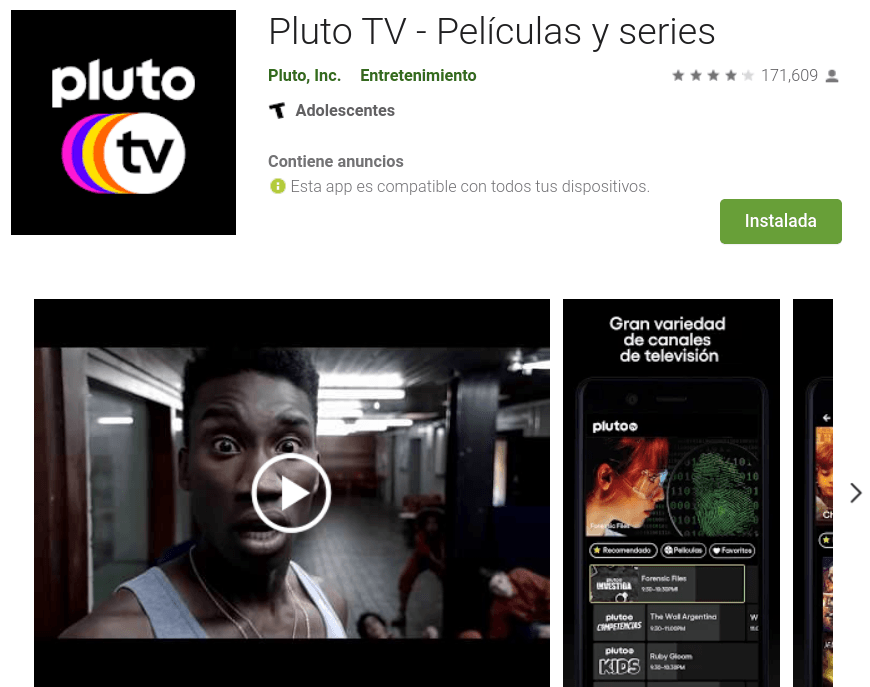 Descubre cómo ver canales gratis en Android con Pluto TV