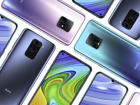 Teléfonos Xiaomi Redmi 10x y 10x Pro
