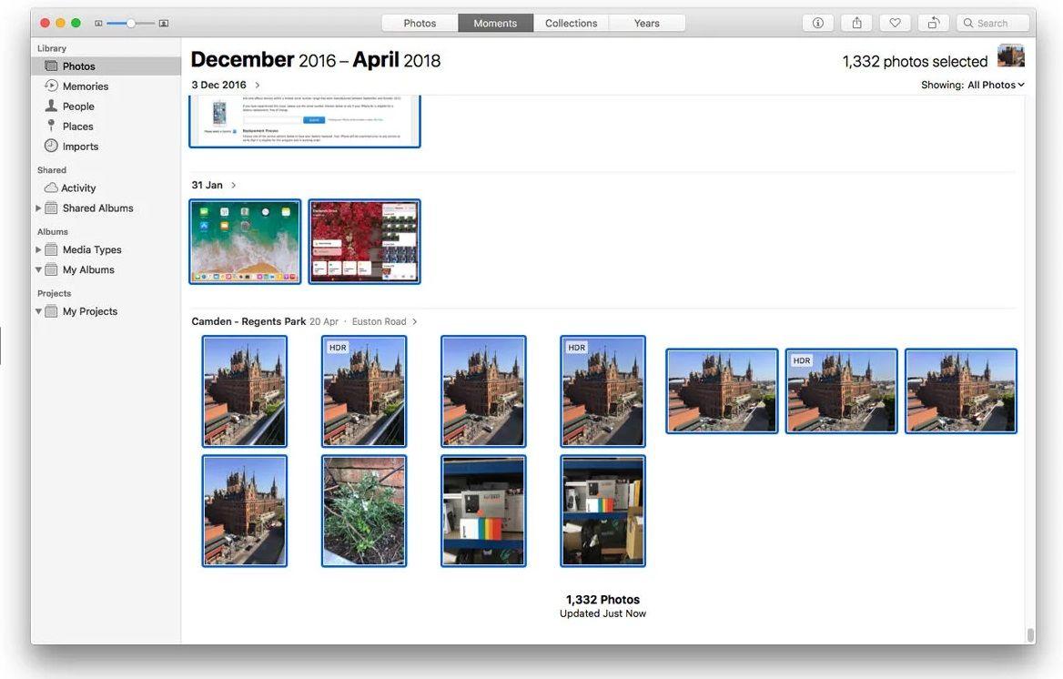 Descargar imágenes de icloud en Mac y Windows