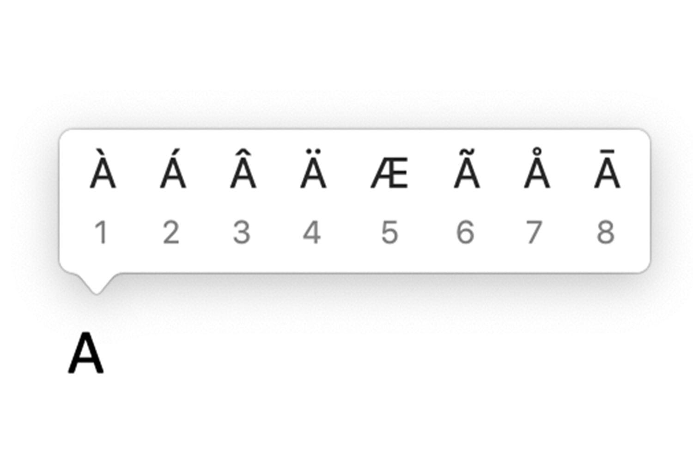 ¿Cómo escribir acentos en un teclado Mac?