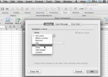 ¿Cómo crear listas desplegables de Excel en Mac?