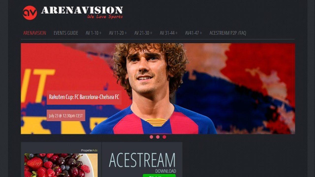 Cómo obtener enlaces para ver partidos de fútbol gratis en Arenavision